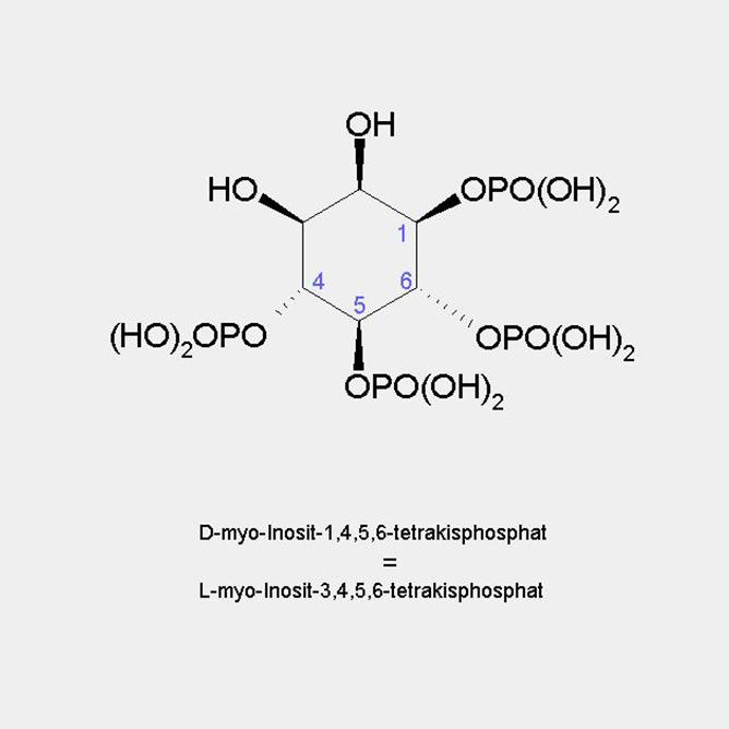 formula myo-Inositol 1456-Tetrakisphosphate / Ins(1,4,5,6)P4