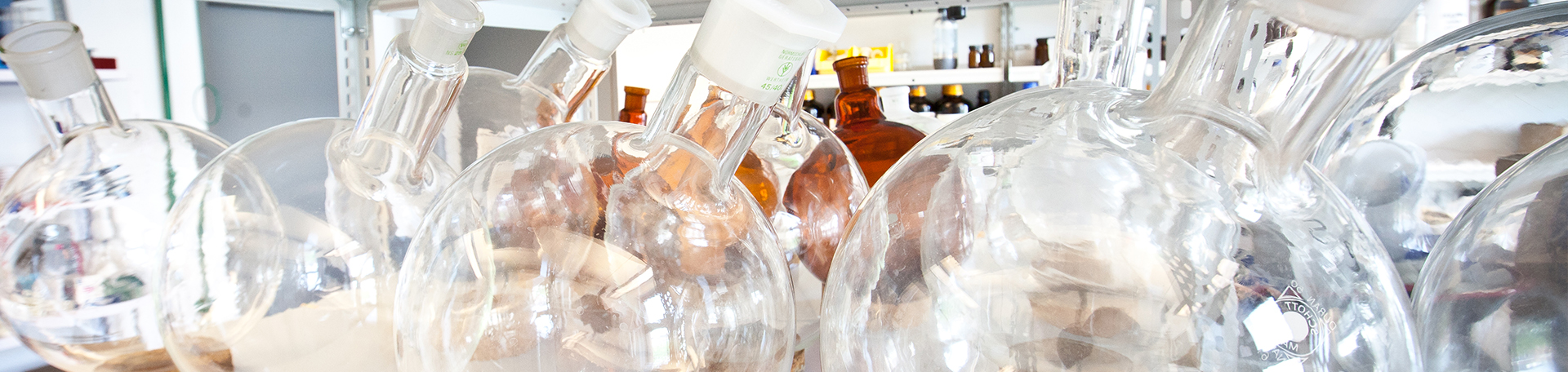 Glassware SiChem lab